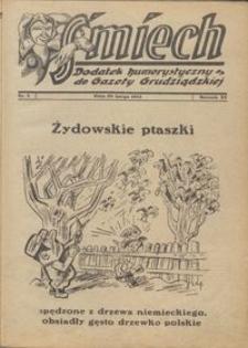 Śmiech: dodatek humorystyczny do Gazety Grudziądzkiej 1934.02.20 R. XV nr 3