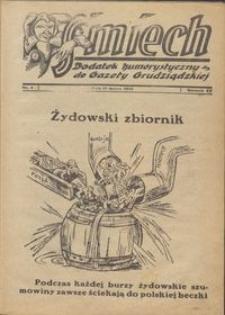 Śmiech: dodatek humorystyczny do Gazety Grudziądzkiej 1934.03.13 R. XV nr 4