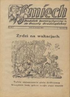 Śmiech: dodatek humorystyczny do Gazety Grudziądzkiej 1934.08.21 R. XV nr 10