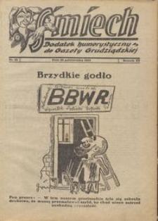 Śmiech: dodatek humorystyczny do Gazety Grudziądzkiej 1934.10.23 R. XV nr 12
