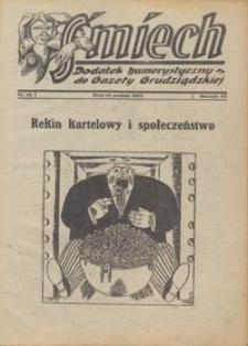 Śmiech: dodatek humorystyczny do Gazety Grudziądzkiej 1934.12.18 R. XV nr 14