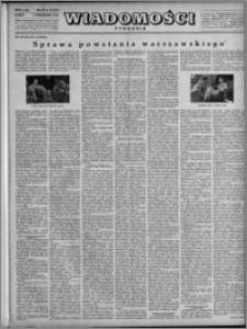 Wiadomości, R. 3, nr 40 (131), 1948