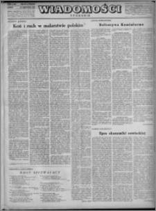 Wiadomości, R. 3, nr 49 (140), 1948