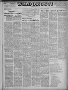 Wiadomości, R. 3, nr 50 (141), 1948