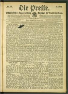Die Presse 1907, Jg. 25, Nr. 33 Zweites Blatt