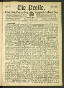 Die Presse 1907, Jg. 25, Nr. 52 Zweites Blatt