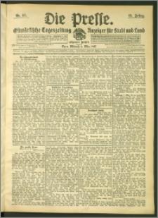 Die Presse 1907, Jg. 25, Nr. 55 Zweites Blatt