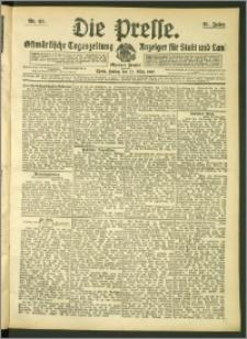 Die Presse 1907, Jg. 25, Nr. 69 Zweites Blatt