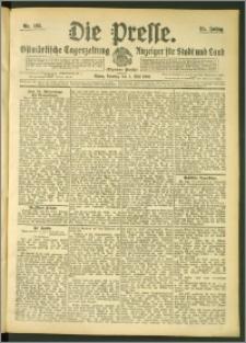 Die Presse 1907, Jg. 25, Nr. 105 Zweites Blatt, Drittes Blatt