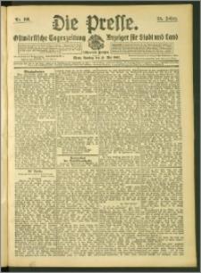 Die Presse 1907, Jg. 25, Nr. 116 Zweites Blatt, Drittes Blatt