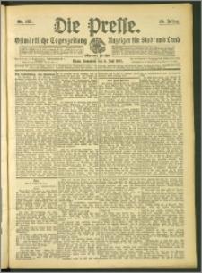 Die Presse 1907, Jg. 25, Nr. 132 Zweites Blatt