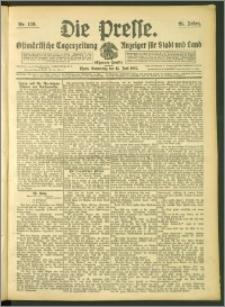 Die Presse 1907, Jg. 25, Nr. 136 Zweites Blatt