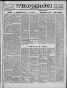 Wiadomości, R. 2, nr 6 (45), 1947