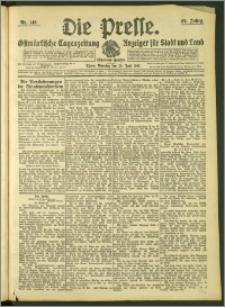 Die Presse 1907, Jg. 25, Nr. 146 Zweites Blatt