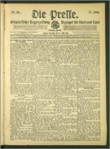 Die Presse 1907, Jg. 25, Nr. 158 Zweites Blatt