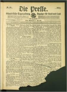 Die Presse 1907, Jg. 25, Nr. 165 Zweites Blatt
