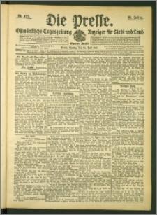Die Presse 1907, Jg. 25, Nr. 175 Zweites Blatt, Drittes Blatt