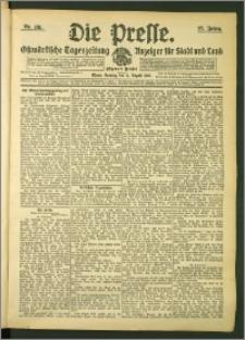 Die Presse 1907, Jg. 25, Nr. 181 Zweites Blatt, Drittes Blatt