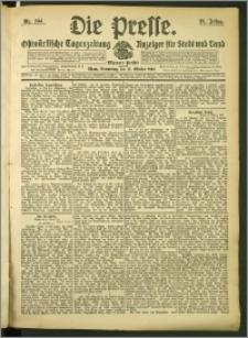 Die Presse 1907, Jg. 25, Nr. 244 Zweites Blatt
