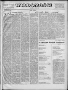Wiadomości, R. 2, nr 13 (52), 1947