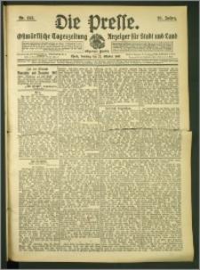 Die Presse 1907, Jg. 25, Nr. 253 Zweites Blatt, Drittes Blatt