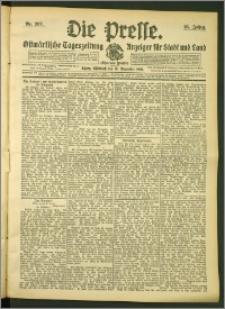 Die Presse 1907, Jg. 25, Nr. 267 Zweites Blatt