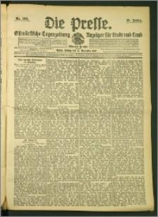 Die Presse 1907, Jg. 25, Nr. 269 Zweites Blatt