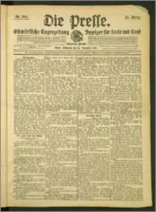 Die Presse 1907, Jg. 25, Nr. 302 Zweites Blatt, Drittes Blatt
