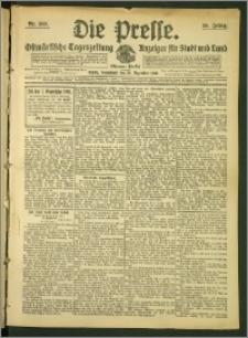 Die Presse 1907, Jg. 25, Nr. 303 Zweites Blatt