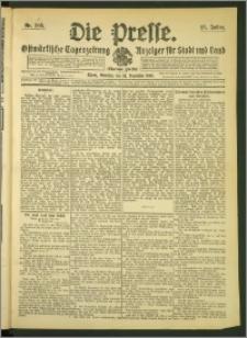 Die Presse 1907, Jg. 25, Nr. 305 Zweites Blatt, Drittes Blatt