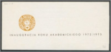 Rektor i Senat Uniwersytetu Mikołaja Kopernika w Toruniu zapraszają uprzejmie na Uroczystość Inauguracji Roku Akademickiego 1972/73 [...]