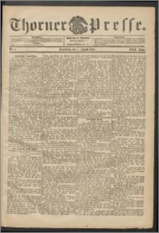 Thorner Presse 1904, Jg. XXII, Nr. 5 + Beilage