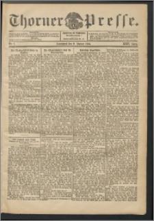 Thorner Presse 1904, Jg. XXII, Nr. 7 + Beilage