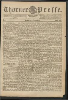 Thorner Presse 1904, Jg. XXII, Nr. 9 + 1. Beilage, 2. Beilage