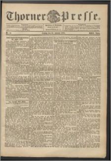 Thorner Presse 1904, Jg. XXII, Nr. 12 + Beilage