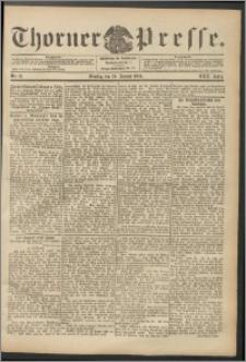 Thorner Presse 1904, Jg. XXII, Nr. 21 + Beilage