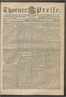 Thorner Presse 1904, Jg. XXII, Nr. 33 + Beilage