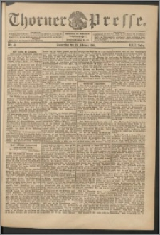 Thorner Presse 1904, Jg. XXII, Nr. 41 + Beilage