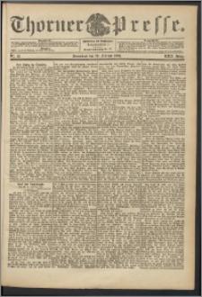 Thorner Presse 1904, Jg. XXII, Nr. 43 + Beilage