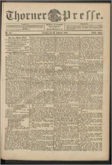 Thorner Presse 1904, Jg. XXII, Nr. 50 + 1. Beilage, 2. Beilage