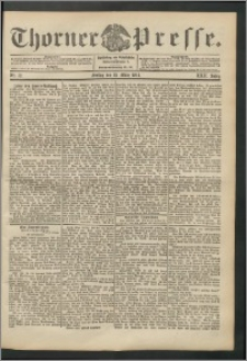 Thorner Presse 1904, Jg. XXII, Nr. 72 + Beilage