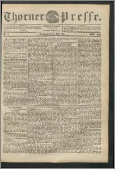 Thorner Presse 1904, Jg. XXII, Nr. 73 + Beilage