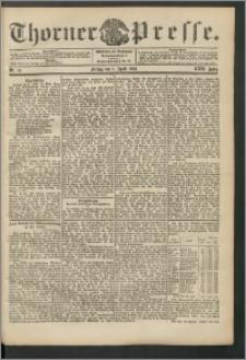 Thorner Presse 1904, Jg. XXII, Nr. 78 + 1. Beilage, 2. Beilage, Beilagenwerbung