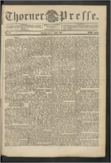 Thorner Presse 1904, Jg. XXII, Nr. 79 + 1. Beilage, 2. Beilage, 3. Beilage