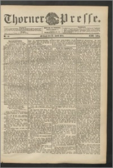 Thorner Presse 1904, Jg. XXII, Nr. 86 + Beilage