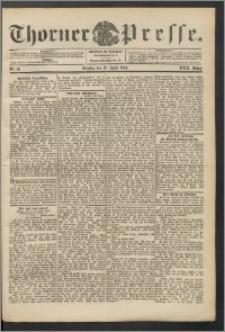 Thorner Presse 1904, Jg. XXII, Nr. 91 + Beilage
