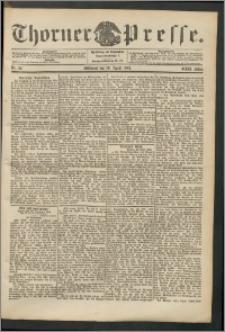 Thorner Presse 1904, Jg. XXII, Nr. 92 + Beilage, Beilagenwerbung