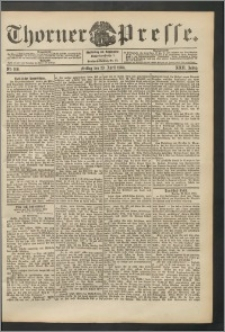 Thorner Presse 1904, Jg. XXII, Nr. 100 + Beilage