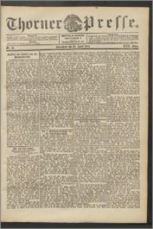 Thorner Presse 1904, Jg. XXII, Nr. 101 + Beilage