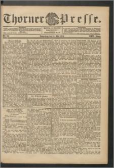 Thorner Presse 1904, Jg. XXII, Nr. 116 + 1. Beilage, 2. Beilage